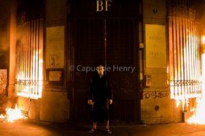 Павленского, который поджег здание Банка