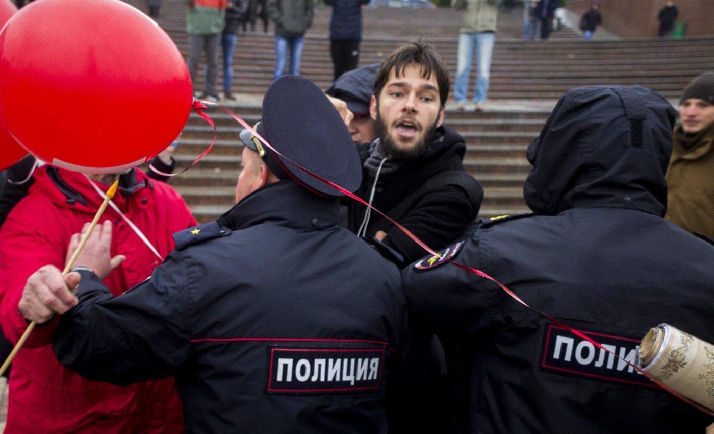 задержания активистов