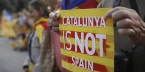 в обретении независимости Каталонией