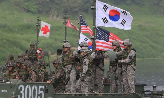 Система ПРО США, размещенная в Южной Корее