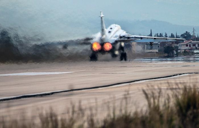 Су-24 выкатился за пределы