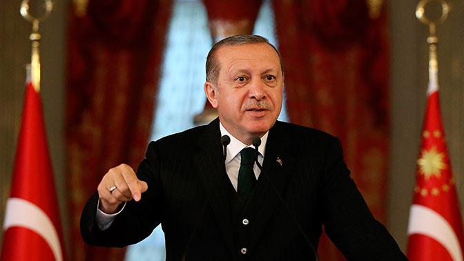 Эрдоган обвинил США