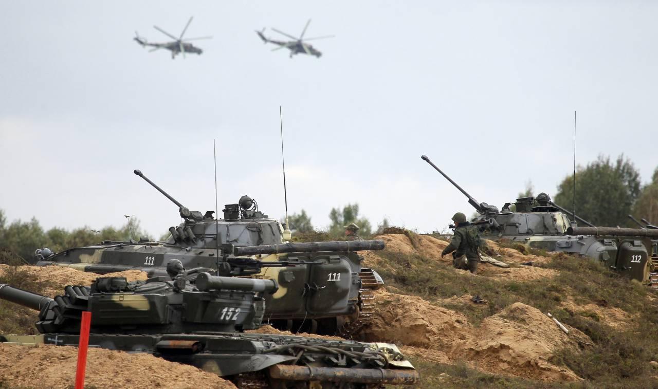 Российско-белорусские учения «Запад-2017»