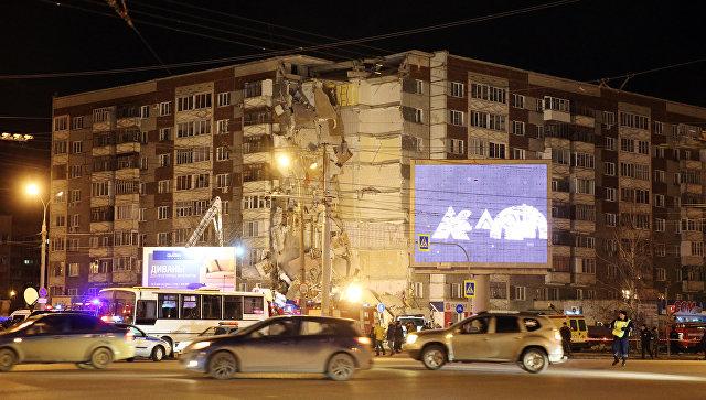 обрушения дома в Ижевске