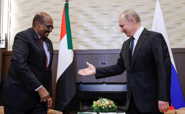 созданию военной базы в Судане