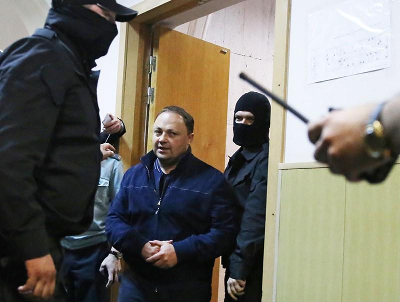 Игорь Пушкарев, обвиняемый в коррупции