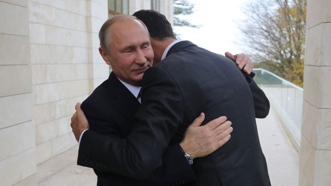 Путин и Асад: встречу спрезидентом Сирии