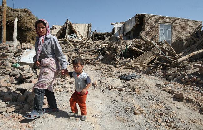 В Иране крупное землетрясение