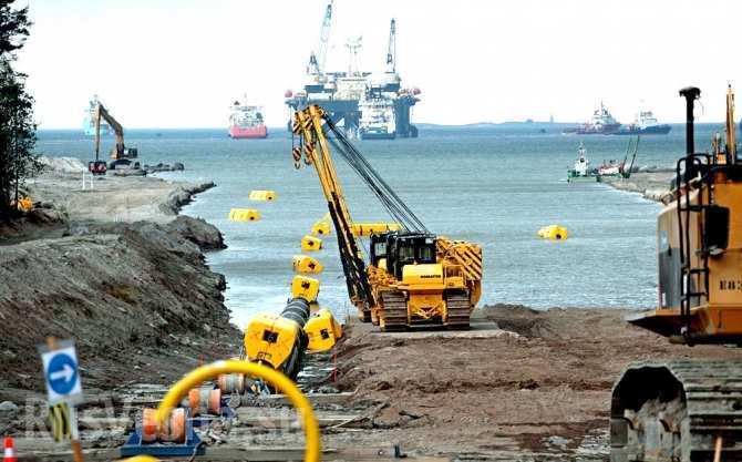 «Газпром» завершил строительство морских участков