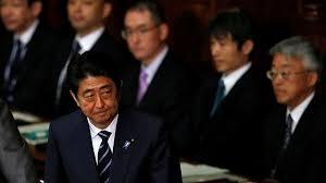 Синдзо Абэ принял отставку кабинета министров