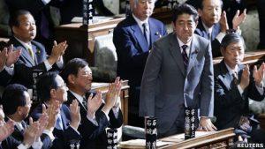 Синдзо Абэ вновь избран главой правительства