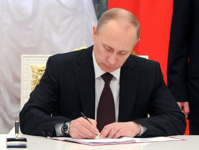 Путин подписал закон остатусе иноагента для СМИ