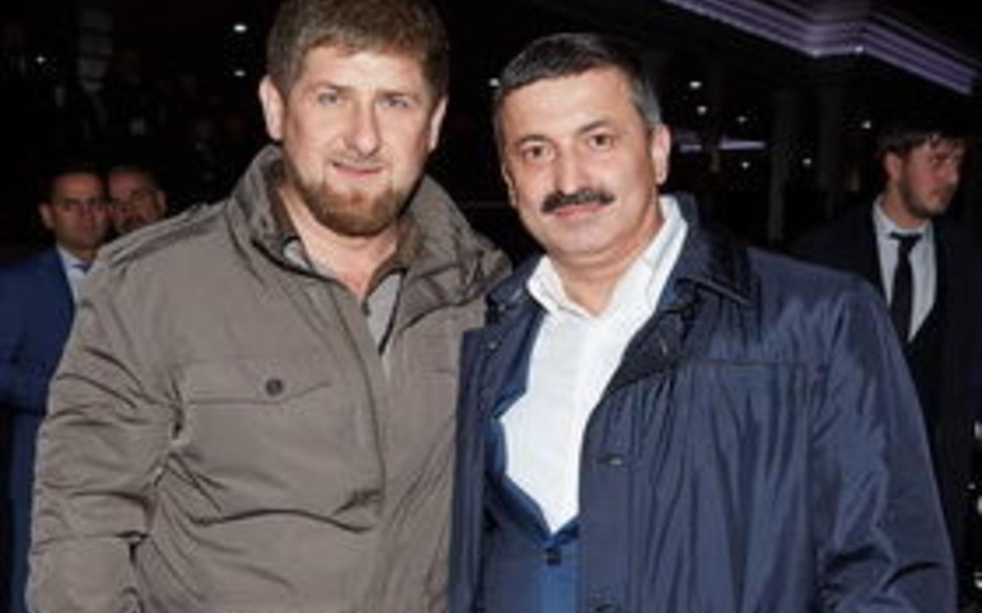 Кадыров и Рамзану Цицулаеву