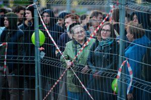 Забор на месте строительства храма в Екатеринбурге снесут