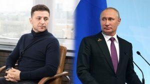 Путин и Зеленский провели первый телефонный разговор