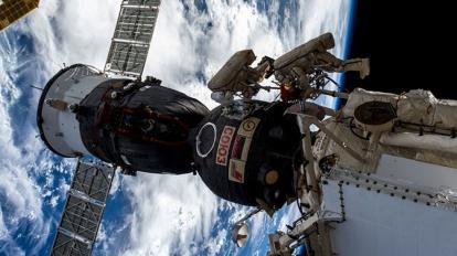 Роскосмос выяснил, откуда взялась дырка в «Союзе МС-09»