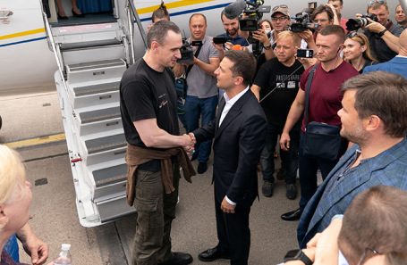 Зеленский анонсировал новый обмен заключенными между Украиной и Россией