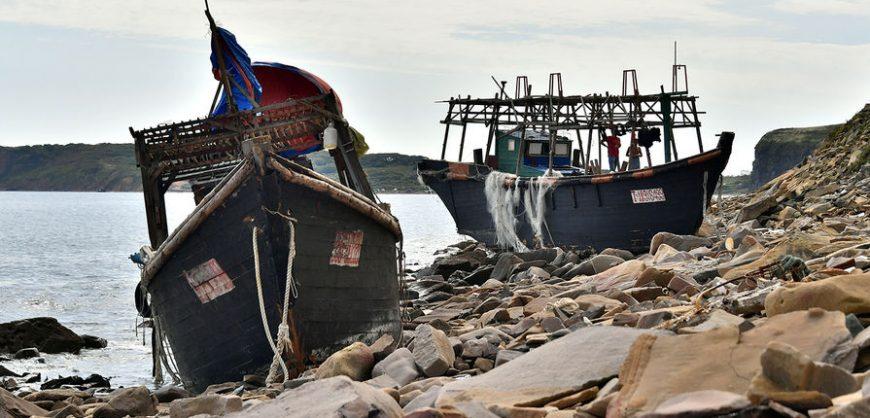 В Японском море браконьеры из КНДР напали на российских пограничников