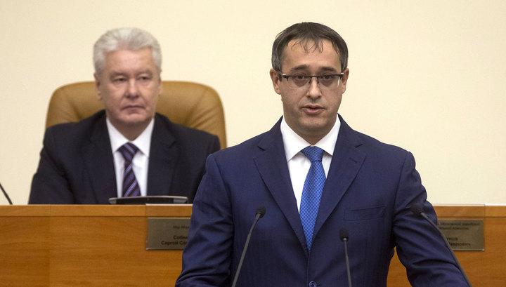 Председателем Мосгордумы вновь избран единорос Шапошников