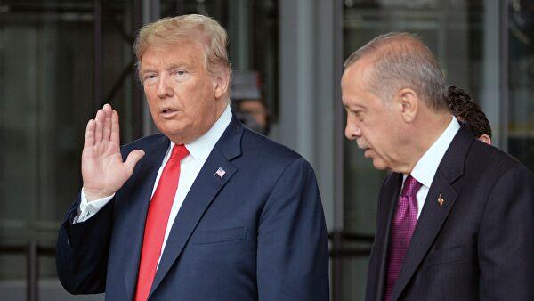 Трамп потребовал от Эрдогана прекратить военную операцию в Сирии