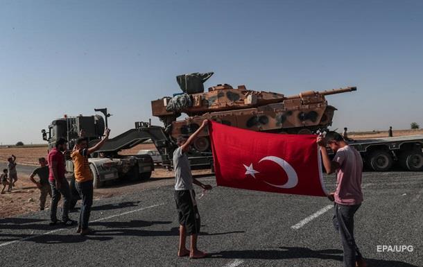 Турция захватила сирийский населенный пункт на северо-востоке Ракки
