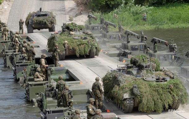 В Германии прошли военные учения по сценарию начала атомной войны