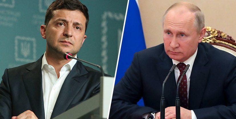 Зеленский планирует встречу с Путиным только в рамках «нормандского формата»