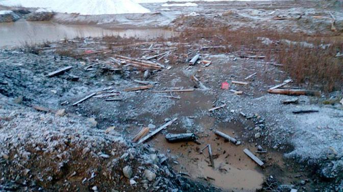 15 человек погибли при прорыве дамбы на прииске в Красноярском крае