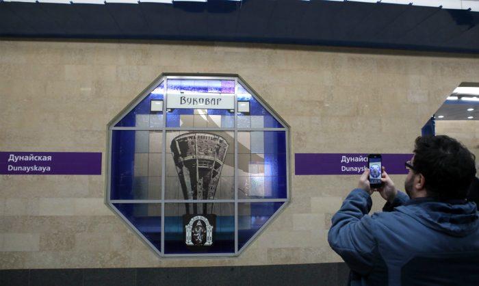 В Петербурге новая станция метро протекла в день открытия