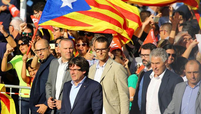 Испания приговорила лидеров движения за независимость Каталонии к срокам от 9 до 13 лет