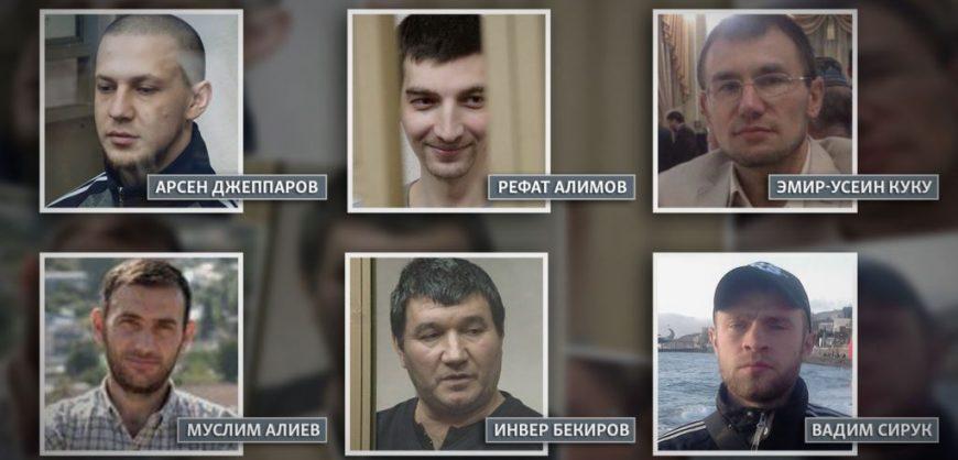 Шестеро крымчан получили до 19 лет колонии за участие в «Хизб ут-Тахрир»