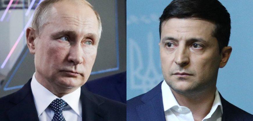 Состоялись телефонные переговоры Путина и Зеленского