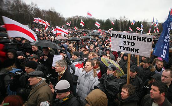 Белорусская оппозиция не прошла в нижнюю палату парламента