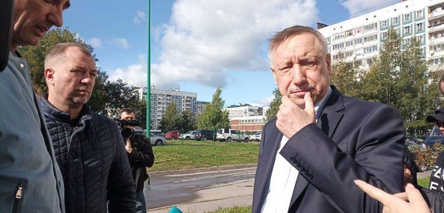 Беглов одобрил строительство завода в Приморском районе, несмотря на протесты жителей