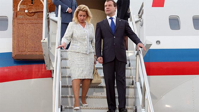 ФБК нашел у жены Медведева личный самолет стоимостью $50 млн
