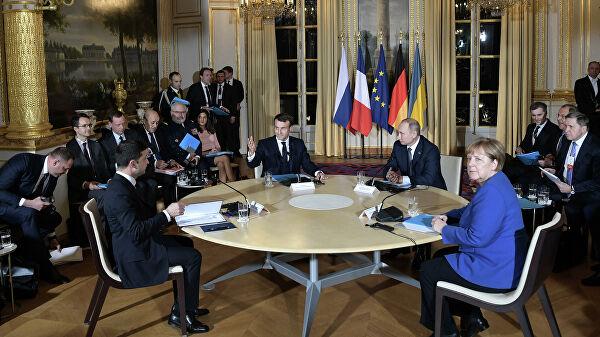 В Кремле заявили, что на нормандском саммите не было «судьбоносного прорыва»