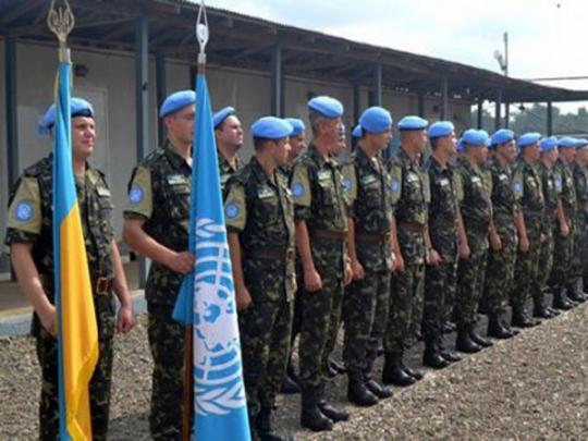 Украина может вернуться к идее размещения контингента ООН в Донбассе