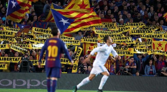 В драке во время матча «Барселона»-«Реал» пострадали более 60 человек