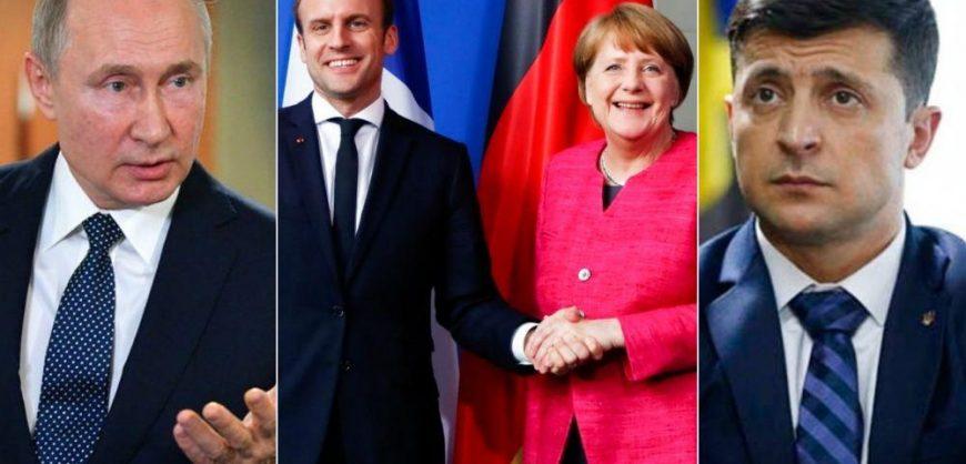 «Ъ»: Россия заняла жесткую позицию перед нормандским саммитом