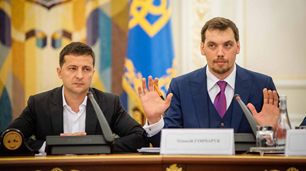Премьер-министр УкраиныГончарук подал заявление об отставке