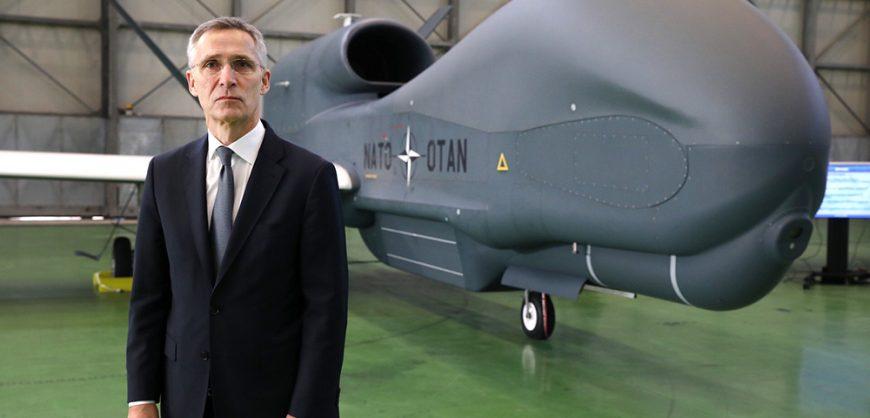 Столтенберг: в НАТО созданы дроны, способные заглянуть на территорию РФ