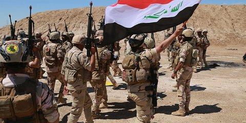 База США в Ираке попала под обстрел
