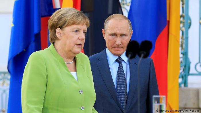 Меркель выступила за реализацию «Северного потока – 2»