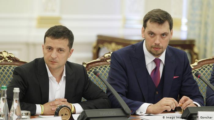 Зеленский отказался поддержать отставку премьера Гончарука