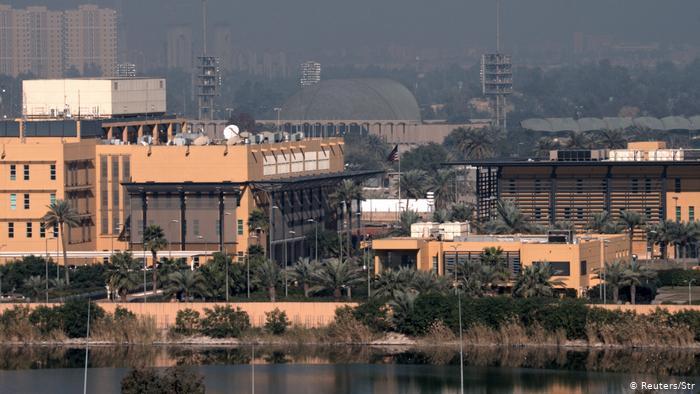 Посольство США в Багдаде пострадало от обстрела