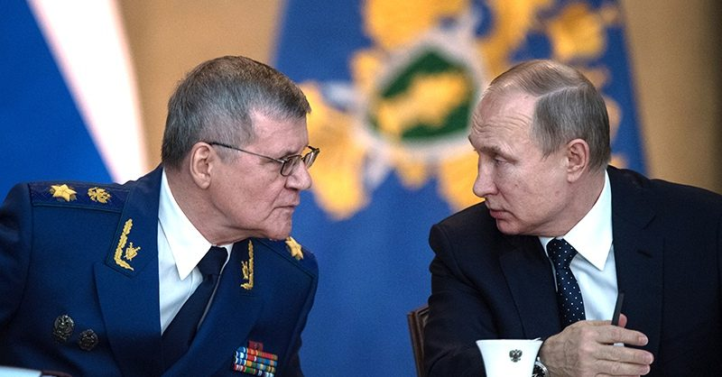 Путин предложил Чайке пост полпреда в Северо-Кавказском федеральном округе
