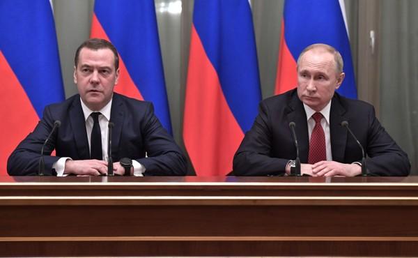 «Ъ»: Медведев планировал реформу политической системы по типу США