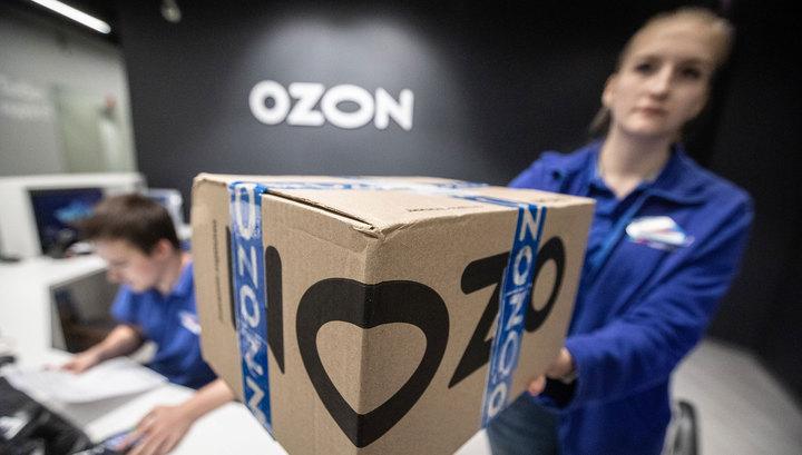 Ozon уволит большинство собственных курьеров
