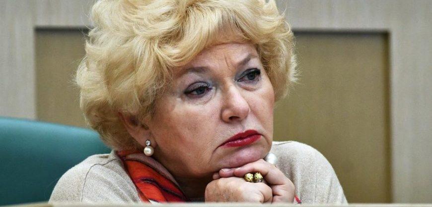 Сенатор Нарусова выступила против голосования за все поправки одним пакетом