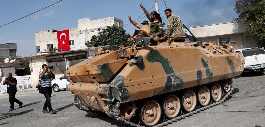 Турция начала масштабную военную операцию в Сирии